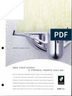 Manning Imago Knoll Textiles Sconces Brochure 2001