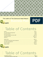 the leahi at the diamond head resort business plan  condensed