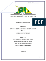 Manufactura Avanzada Tema 3.1