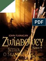 John Flanagan - Zwiadowcy 04 - Bitwa o Skandię