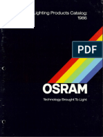 Osram 1986 General Lighting Products Catalog