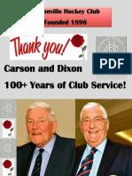 Cliftonville HC Dixon & Carson Rose