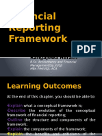 Financial Reporting Framework
