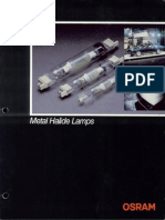 Osram HQI (Double Ended) Brochure