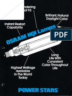 Osram HQI Power Stars Lamps Brochure