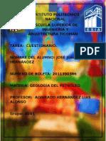Cuestionario Geologia Del Petroleo