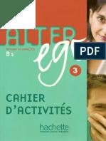 Alter Ego 3 Cahier d Activites