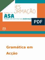 Gramática em acção