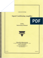 Signal Amplifier Manual