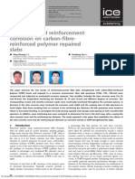 Effects of steel reinforcement corrosion on carbon-fibrereinforced polymer repaired slabs