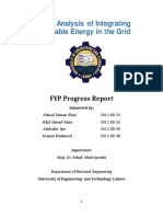 Impact Analysis of Renewable Energy in the Grid