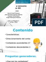 A16-450 E33 Contadores