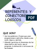 REFERENTES y Conectores-logicos
