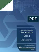 Dem Financeiras Banco Caixa Geral Brasil