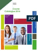 Course Catalogue 2016