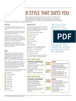 Find the Job Style