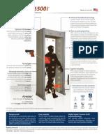 Brochure Garrett Pórtico Detector de Metales