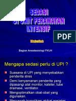 7 - Sedasi Di Unit Perawatan Intensif