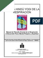 Ramacharaka, Yogi - Ciencia de la Respiración
