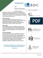binghamton development corporation - fact sheet draft