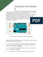 Anatomia de Placa ARduino