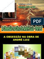( Espiritismo) - # - A Obsessao Na Obra de Andre Luiz Parte I-rosanac