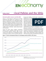 UNEP Fiscal Policies and SDGs Brief