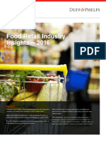 Food Retail Industry Insights 2016