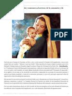 """""""María, primera discípula y misionera al servicio de la comunión y de la vida"""" _ Semanario FIDES.pdf"""