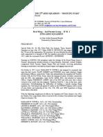 History of US 22nd Aero Squadron 1918