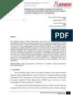 A GÊNESE INSTRUMENTAL DO MATERIAL MANIPULATIVO RÉGUA TRIGONOMÉTRICA NO PROCESSO DE ENSINO-APRENDIZAGEM DO OBJETO MATEMÁTICO REDUÇÃO AO 1º QUADRANTE