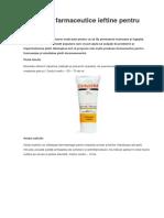 Preparate Farmaceutice Ieftine Pentru Frumusețe