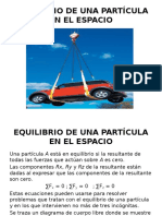 (4) EQUILIBRIO DE UNA PARTÍCULA EN EL ESPACIO.pptx