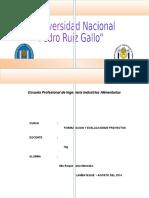 Estudio de Mercado y Localizacion de Planta de PulpaMANGO.