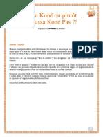 Moussa Koné Pas