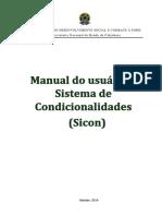 Manual Do Novo Sicon
