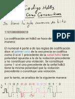 Código Hdb3 Secuencia 8 Ceros