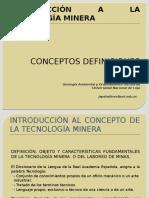 8 INTRODUCCIÓN A LA TECNOLOGÍA MINERA 2 - 6 nov.pptx