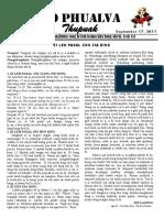 Zo Phualva Thupuak - Volume 01, Issue 12