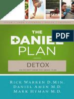 Daniel Plan Detox
