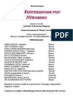 Meistersinger - Libretto Italiano Wagner