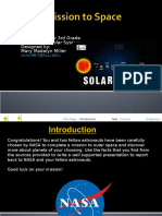 solar system webquest template