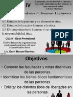 Presentación Tutoria 3 Etica ProfesionaI Capitulo 4