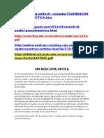 GRANULOMETRIA MICROSCOPICA