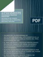 La Republica y La Oligarquia Peruana y Mundial Proceso Evolutivo Dela Industria