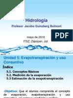 4.1 - 4.3 Evapotranspiracion y Uso Consuntivo May 2016