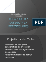 Desarrollo y Conducta en Preescolares