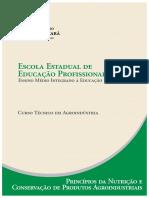 APOSTILA Agroindustria Princpios Da Nutricao e Conservacao de Produtos Agroindustriais
