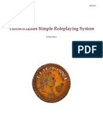 Simple Role Playing System-Rules-TSRS1001