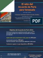 Centeno - El Reto Del Acuerdo de Paris Para Venezuela - Nov 2016 v3